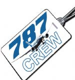 Boeing 787 Crew Tag